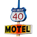 Hi-way 40 Motel by Rick Mosher