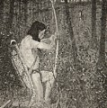Hiawatha by Frederic Remington