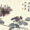 Hibiscus by Zhang Daqian