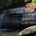 Hickory Nut Falls At Chimney Rock Nc by Anna Lisa Yoder