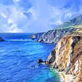 Hidden Beach At Big Sur by Dominic Piperata