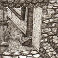 Hidden Courtyard by Julie  Ford