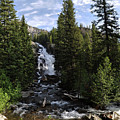 Hidden Falls - Grand Tetons Np by Rob Lantz