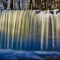 Hidden Falls Morning Glow by Rikk Flohr