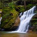 Hidden Hocking Hills Waterfall Ohio by Ina Kratzsch