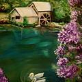 Hidden Lake by Dyanne Parker