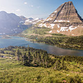 Hidden Lake In Glacier National Park Montana  by John McGraw
