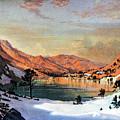Hidden Lake Western United States by Douglas Barnett