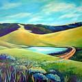 Hidden Pond by Stephanie  Maclean