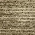 Hieroglyph Iv by Paolo Modena