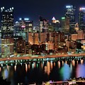 High Above Pittsburgh by Frozen in Time Fine Art Photography