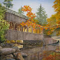 High Falls Bridge by Shirley Braithwaite Hunt