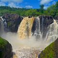 High Falls In July by Hella Buchheim