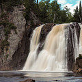 High Falls Of Tettegouche State Park 1 by AMB Fine Art Photography