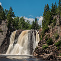 High Falls Of Tettegouche State Park 4 by AMB Fine Art Photography