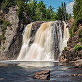 High Falls Of Tettegouche State Park2 by AMB Fine Art Photography