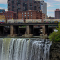 High Falls, Rochester  by Jesse Cuddahee
