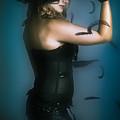 High Fashion Female Mystery Dancer by Jorgo Photography - Wall Art Gallery