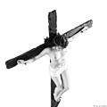 High Key Female Crucifix by Ramon Martinez