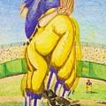 High Leg Kick by Jame Hayes