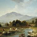 High Point  Shandaken Mountains, 1853 by Asher Brown Durand