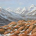 High Sierra Nevada Mountains by Frank Wilson