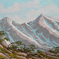 High Sierras Study IIi by Frank Wilson