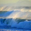 High Tide On The Atlantic Ocean by Dianne Cowen