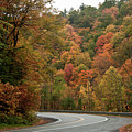 High Walls Of Fall Colors by Jeff Folger