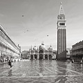 High Water In S.marco Square by Marco Missiaja