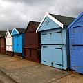 Highcliffe Huts 4 by Chris Day