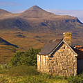 Highland Cottage At Elphin by John McKinlay