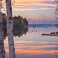 Highland Lake Panorama by Darylann Leonard Photography