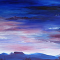 Highland Mountains Table Top by Cheryl Nancy Ann Gordon