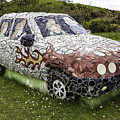 Highland Stoneware Car by Fran Gallogly