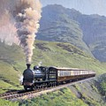 Highland Steam by Richard Picton