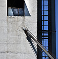 Highrise Fire Escape by Skip Willits