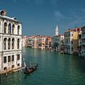 Hight Tide In Venice by Livio Ferrari