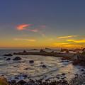 Highway 101 California Sunset by Scott McGuire
