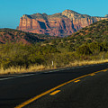 Highway 179 Toward Sedona by Ed Gleichman