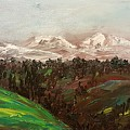 Highway 2 Going To Butte by Cheryl Nancy Ann Gordon