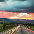 Highway 36 To Beautiful Boulder Colorado by James BO Insogna