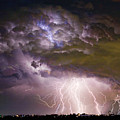 Highway 52 Storm Cell - Two And Half Minutes Lightning Strikes by James BO  Insogna