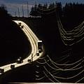 Highway Sunset by Steve Somerville