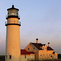 Higland Lighthouse Cape Cod by Roupen  Baker