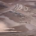 Hiker - Great Sand Dunes - Colorado by Nikolyn McDonald