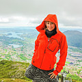 Hiker Woman In Norway by Benny Marty