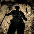 Hikers Shadow by Eduardo Gil