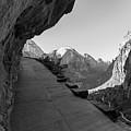 Hiking Angels Landing  by John McGraw