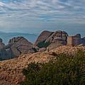 Hiking In Montserrat Spain by Joan Carroll